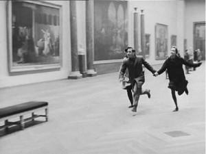Photogramme de Bande à part (Jean-Luc Godard, 1964) DR.