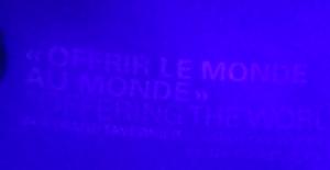 """Exposition Lumière ! """"Offrir le monde au monde"""" (extrait du titre). © Nicolas Schmidt – IHTP/CNRS"""
