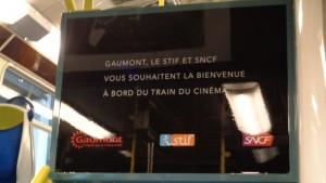 Gaumont, SNCF et le STIF célèbrent ensemble les 120 ans du cinéma - Annonce train du cinéma © IHTP - CNRS