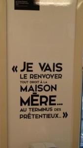 """Gaumont, SNCF et le STIF célèbrent ensemble les 120 ans du cinéma – Réplique """"Tontons flingueurs"""" © IHTP – CNRS"""
